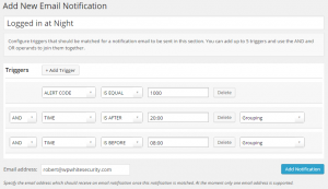 Configuring Triggers in Email Notifications and Alerts premium add-on