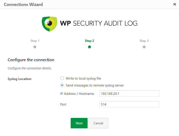 Mirroring the WordPress Activity Log to Syslog | WP Security