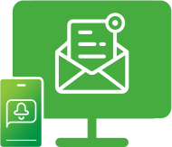 SMS & Email notifications